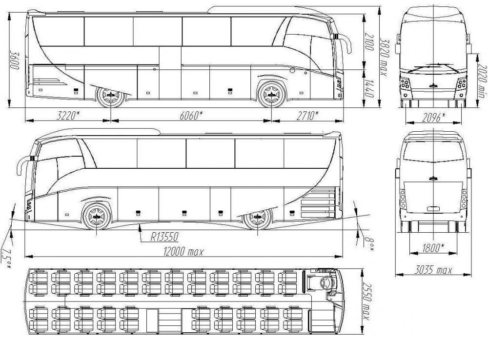 Автобус МАЗ-251 - автобус
